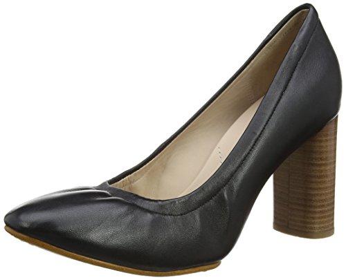 Clarks Grace Eva, Scarpe con Tacco Donna Nero (Black Leather)