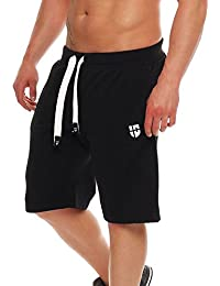 436e28dab13c Gennadi Hoppe Herren Sweat Short Cotton Sweat Short Kurze Hose Bermuda  Sweatpant Sport Shorts