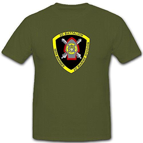 2-nd-battalion-10th-marines-us-united-states-artilleria-escudo-nadadores-camiseta-12142-verde-oliva-