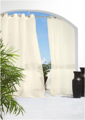 Commonwealth Home Fashions Außen Dekoration Grommet Pavillon von außen 50