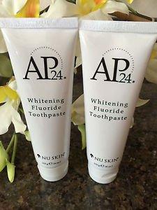 2 X Nu Skin Ap-24 Whitening Fluoride Toothpaste