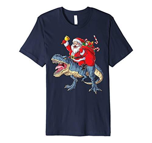Weihnachtsmann Dinosaurier T rex T shirt Weihnachten Gifts