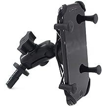 Motocicleta Soporte para teléfono móvil cámara de acción GPS 13-15mm horquilla de montaje para