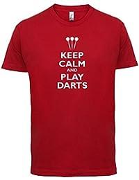 Keep Calm and Play Darts - Mens T-Shirt - 10 Colours