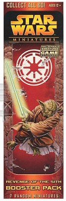 Revenge Of The Sith Booster Pack: 7 Random miniatures