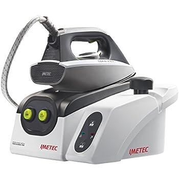 Imetec Iron Max Eco Professional 2500 Ferro da Stiro con Caldaia in Pressione, Piastra in Acciaio Inox, Generatore di Vapore
