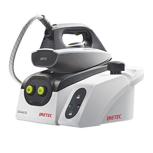 Imetec Iron Max Eco Professional 2500 Sistema Stirante, Ferro da Stiro con Piastra in Acciaio Inox e Generatore di Vapore