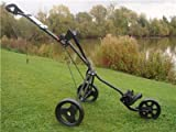 Masters 3 Series 3 Wheel Cart - Black