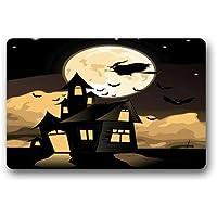 dfegyfr Felpudos ScottShop Custom Happy Halloween Felpudo 23.6