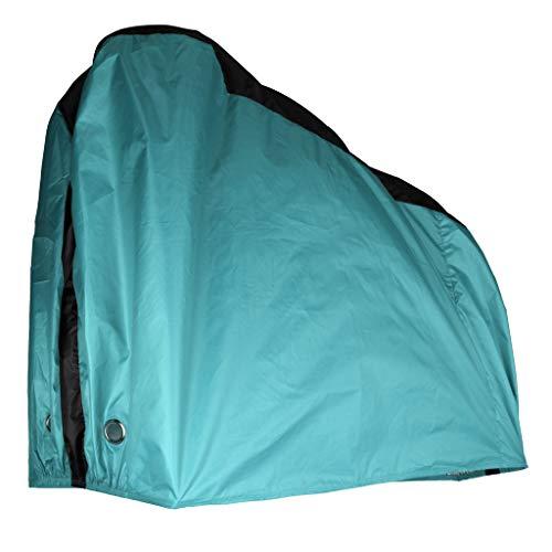 B Baosity Housse Vélo Extérieur Couverture de Vélo Housse de Protection Imperméable Anti-UV pour Vélo - Bleu, comme décrit