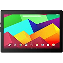 BQ Aquaris E10 - Tablet de 10.1 pulgadas (WiFi 802.11 a/b/g/n, Bluetooth 4.0, GPS, MediaTek Octa Core Cortex A7 hasta 1.7 GHz, 2 GB de RAM, memoria interna de 16 GB, Android 4.4 KitKat), color negro - (Reacondicionado Certificado por BQ)
