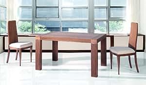 RUIZ Y SANCHEZ TABLE MIKONOS Modèle 120cm avec PLATEAU BOIS Finition HETRE-06