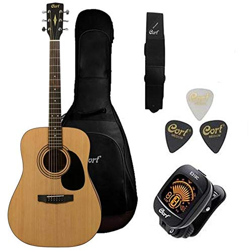 10. Cort AD810 Dreadnought Acoustic Guitar