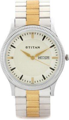 41yTXYB9wNL - Titan 1650BM01 Multi Color Mens watch
