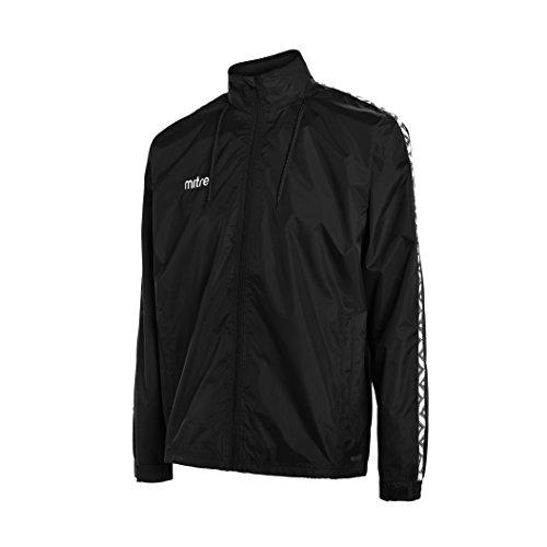 Mitre Delta Wasserdichte Regenjacke, Herren, Delta Water Resistant Rain Jacket, schwarz/we Preisvergleich