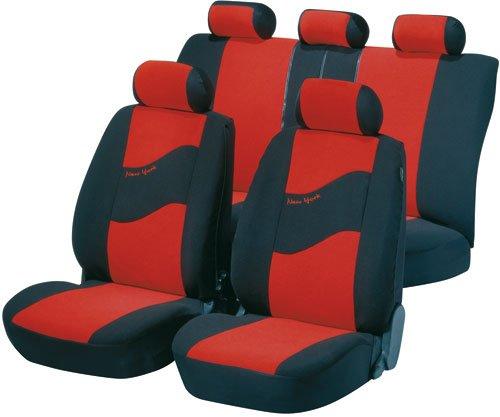 Walser 12653-0 Set completo coprisedile auto New York, per veicoli dotati di airbag laterale certificato dal TÜV con CO