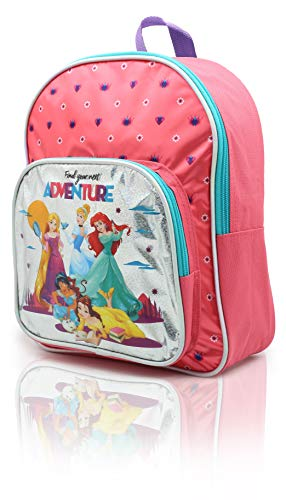 Zainetto Asilo Bimba Principesse Disney Zainetti Bambina con Cenerentola Belle Ariel Jasmine Rapunzel