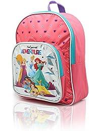 fb87aa6155e Mochila Princesas Disney para Niñas Mochilas Infantiles La Sirenita  Cenicienta Bella Jasmine Rapunzel