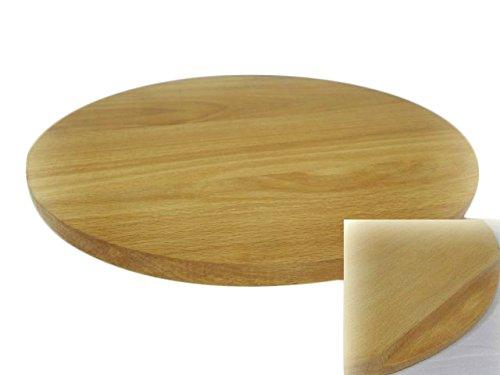 Wooden world rotondo da pizza circolare in legno piatto da portata di taglio tagliere pizza in legno massiccio-40cm-40,6cm