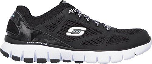 Skechers - Skech-flexroyal Forward, Sneaker Donna Blk White