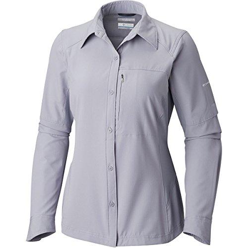 Columbia Sportswear Damen Silver Ridge Long Sleeve Shirt, Astral, S