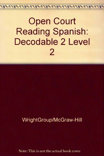 OPEN COURT READING SPANISH - DECODABLE 2 LEVEL 2 (Leap into Phonics)