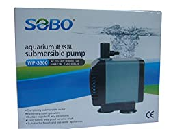 SOBO Submersible Pump Head - 12W - 600 L/H - Home Fountain Aquarium - Imported