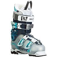 Botas de esquí para mujer Salomon Quest Pro 80 2015, color Gris - crystal translu./dark blu, tamaño 41