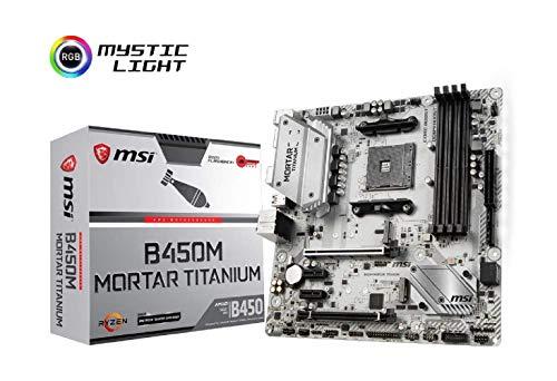 MSI B450M Mortar Titanium - Placa Base AM4