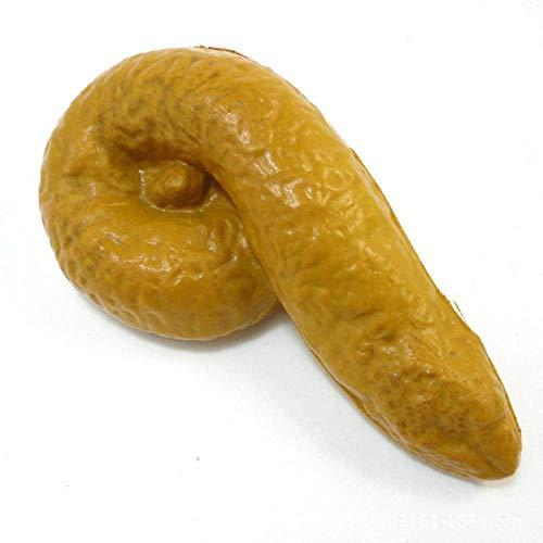 LBAFS Streich Fake Poop Turd Mist POO Grosser Witz Schmutziger Trick Neuheit Menschlicher Spaß ()