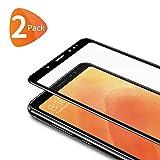 Bewahly Panzerglas Schutzfolie für Xiaomi Redmi Note 5 [2 Stück], 9H Härte Panzerglasfolie Ultra Dünn HD Displayschutzfolie V