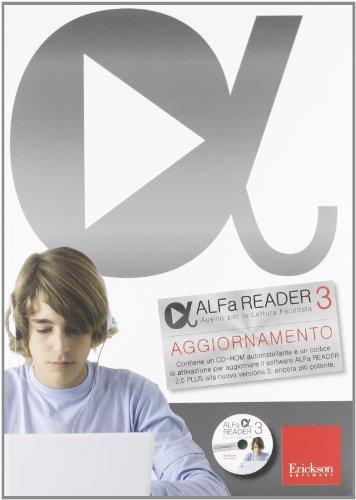 Alfa reader 3 aggiornamento (kit: libro e chiavetta usb). ausilio per la lettura facilitata. lettore vocale