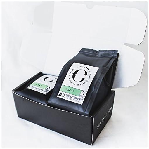 Cru Kafe Nespresso Compatible Pods Organic Fairtrade Coffee