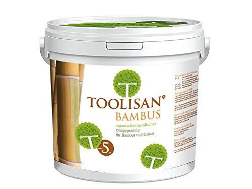 Bambusdünger TOOLISAN mit Langzeitwirkung - 5 kg Eimer