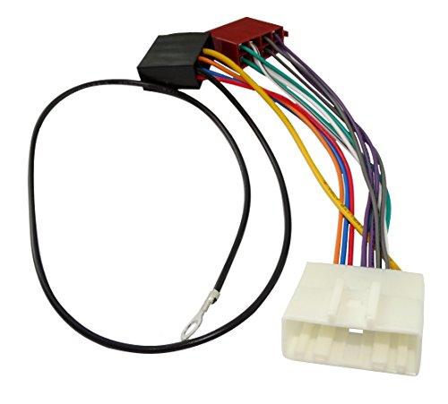 AERZETIX––AK8ISO–Conversor adaptador–Cable adaptador de radio Radio Cable Conexión de Cable conector ISO