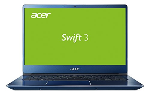 Acer Swift 3 (SF314-54-38QQ) 35,6 cm (14 Zoll Full-HD IPS) Ultrabook (Intel Core i3-8130U, 4 GB RAM, 128 GB SSD, Intel UHD, Win 10) blau