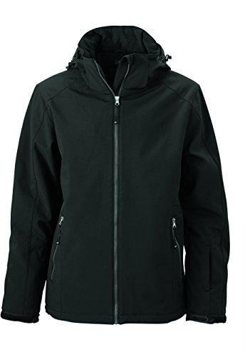 James & Nicholson Herren Wintersport Jacket Jacke Schwarz (Black)