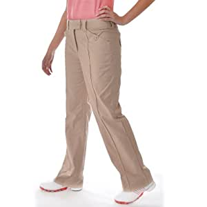 Ashworth Womens Golf Trousers - Beige - WM62033 - 18