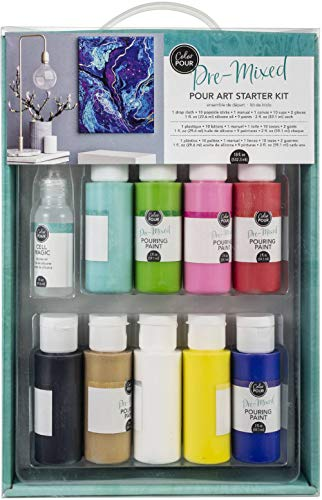 American Crafts Color Pour Starter Kit- -