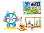 Peppa Pig Ferris Wheel George Family Toys Doll Peppapig Amusement Park DIY Play House Toy Action Figures Toys for...