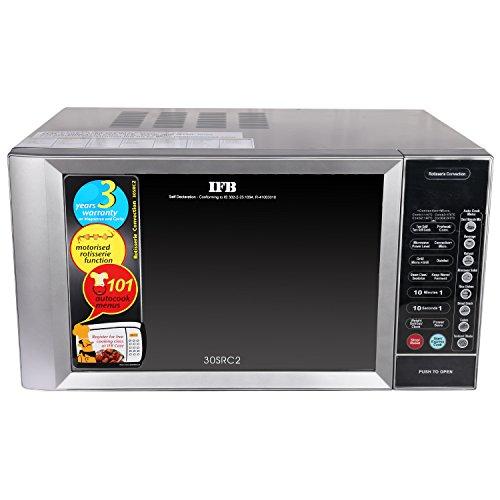 IFB 30SRC2 30-Litre Rotisserie Convection Microwave Oven (Metallic Silver)