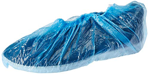 Spartan Shoe Cover-50Pair Disposable Shoes Cover, PVC, Pack of 50 Pair