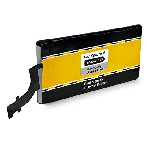 PATONA Batería AGPB009-A001 para Sony Xperia P | LT22i [ Li-Polymer, 1265mAh, 3.7 V ]