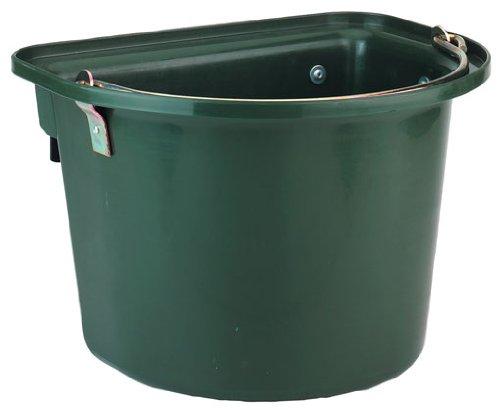 PFIFF Futter- und Transporterkrippe mit Metallhaken, grün, 001222-30-1