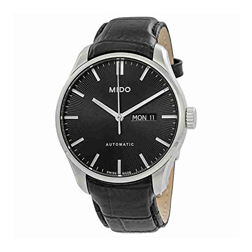 Mido Men's Belluna II 42.5mm Leather Band Automatic Watch M024.630.16.051.00