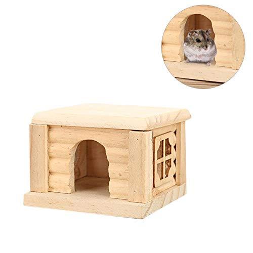 Irahdbowen giocattolo da masticare giocattolo da masticare per animali di piccola taglia non tossico in legno