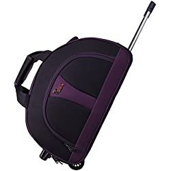 """F Gear Cooter 22"""" Polyester 61 Ltrs Purple Travel Duffle (2392)"""