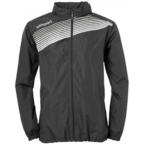 Uhlsport Teamsport Club Regenjacke 2 Multi-Coloured black/white Size:L by uhlsport