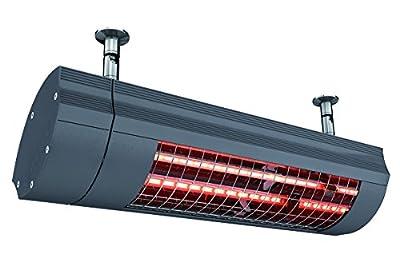 Etherma Solamagic Infrarotstrahler, 2 kW mit Funkempfänger, nano-anthrazit, 9100388 von Etherma - Heizstrahler Onlineshop
