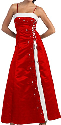 endkleid lang Festkleid Brautjungfernkleid Brautmutterkleid Hochzeitsgast (Taufe Kleider Für ältere Mädchen)